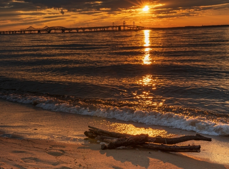 Sunset-chesapeak-Bay-Bridge